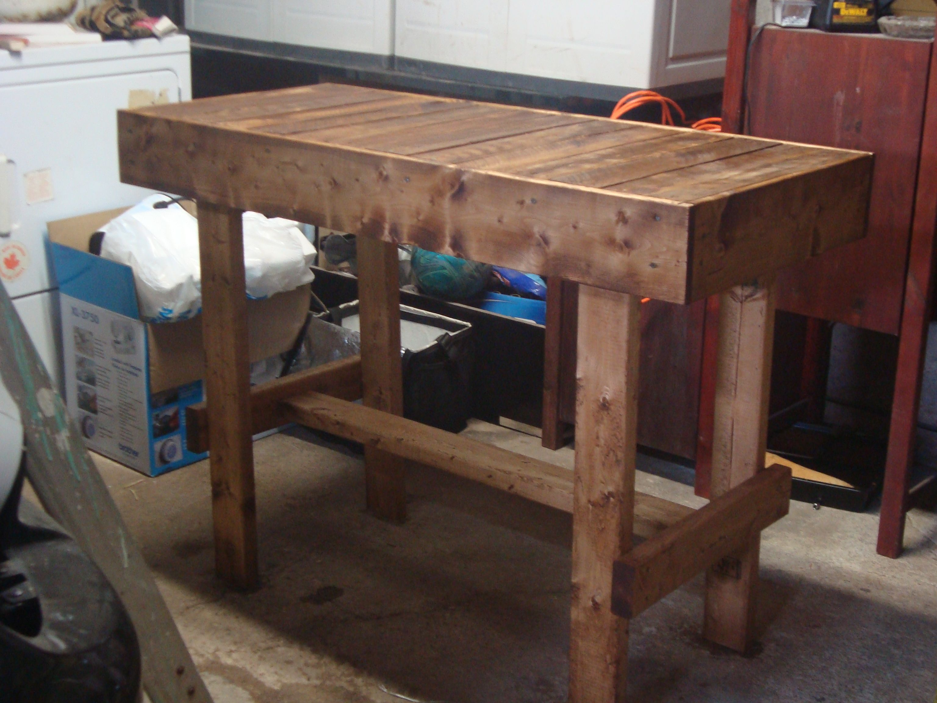 kitchen island made out of pallets reuse repurpose