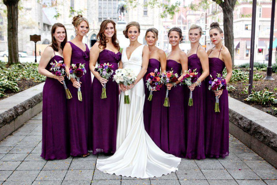 Eggplant Wedding Theme Ideas Wedding Favors Pinterest