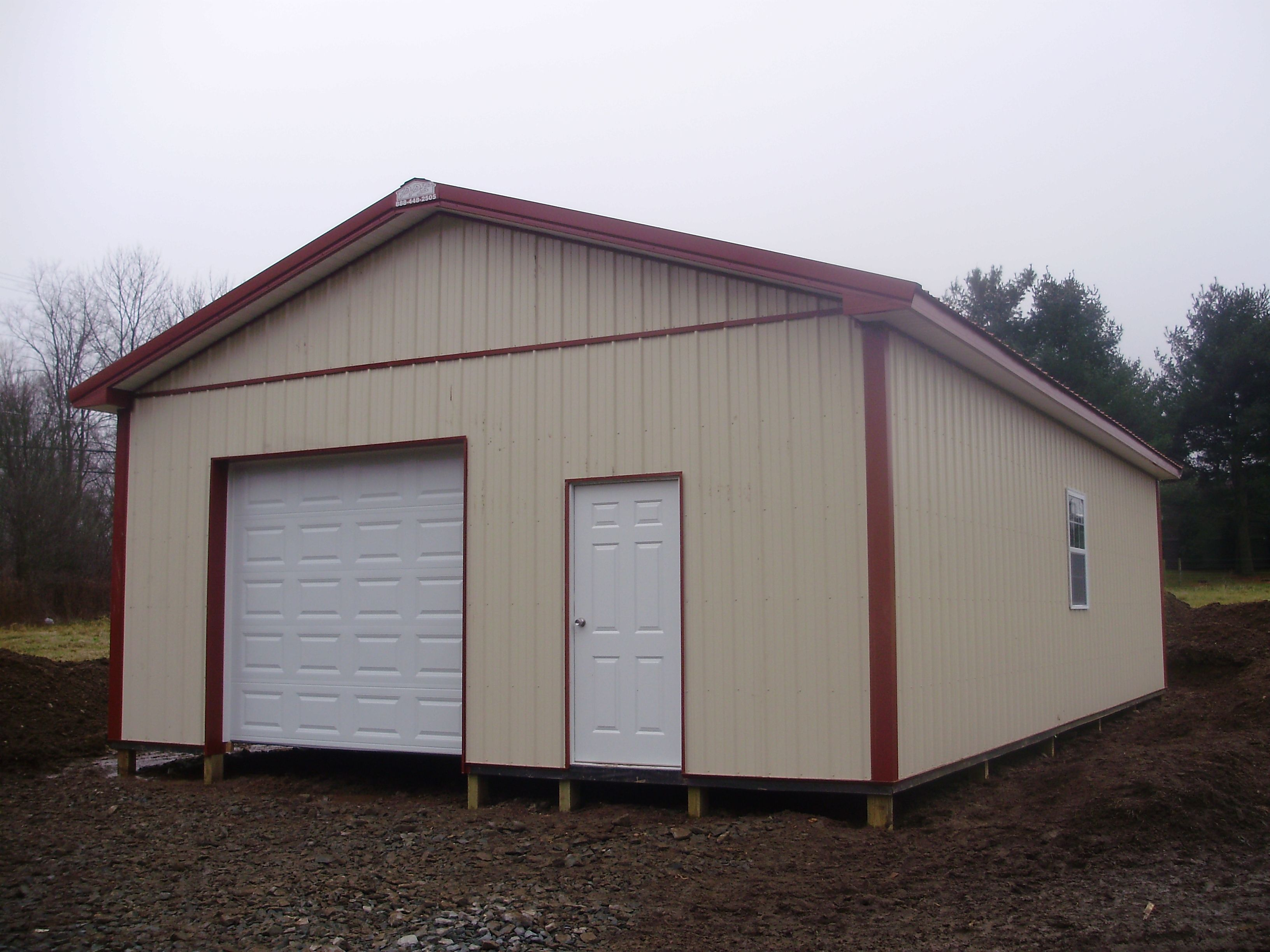 Pin by pioneer pole buildings inc on residential pole for 4 car pole barn