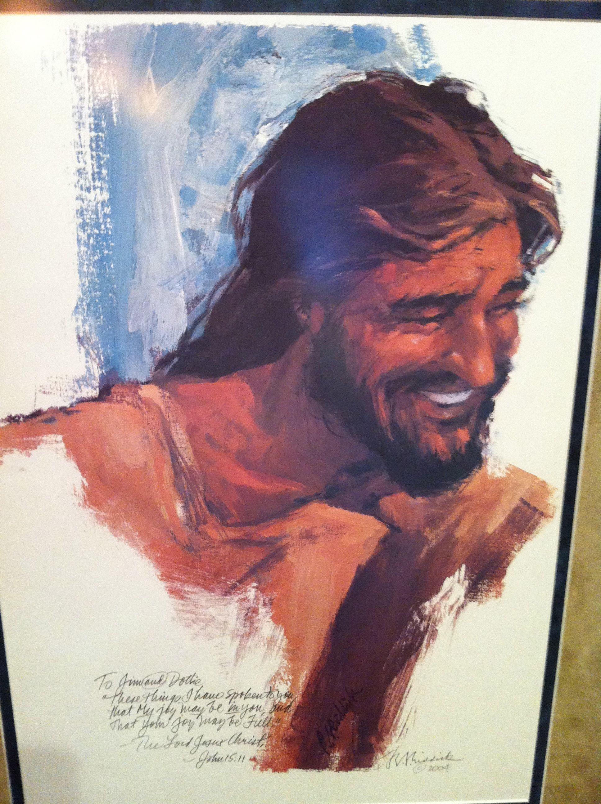 alfa img showing u003e laughing jesus painting