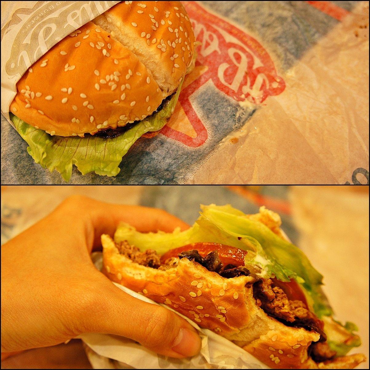 Portobello mushroom burger, Carl's Jr | Delish | Pinterest