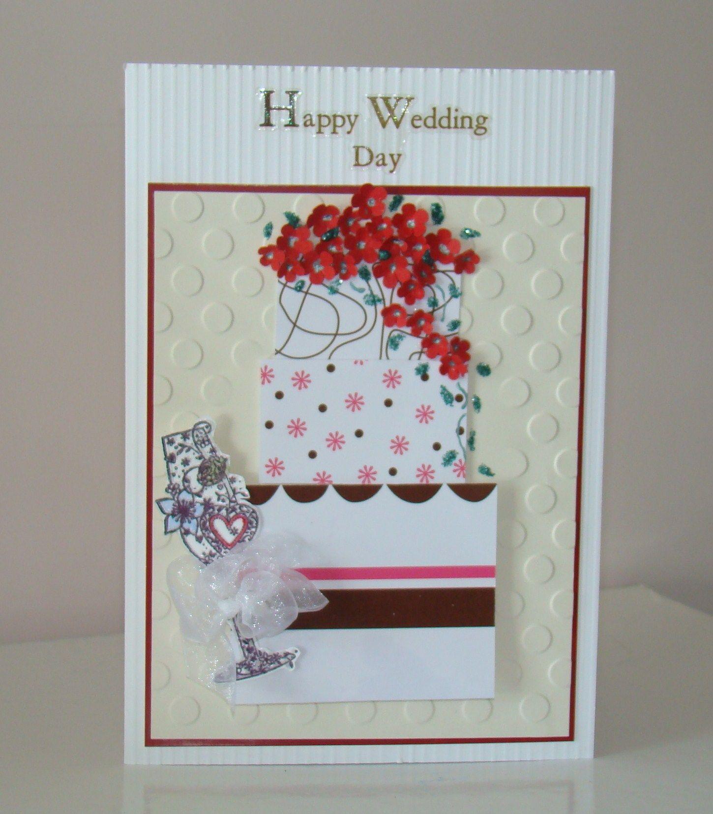 1 Year Wedding Anniversary Gifts Pinterest : Wedding card Wedding/anniversary cards Pinterest