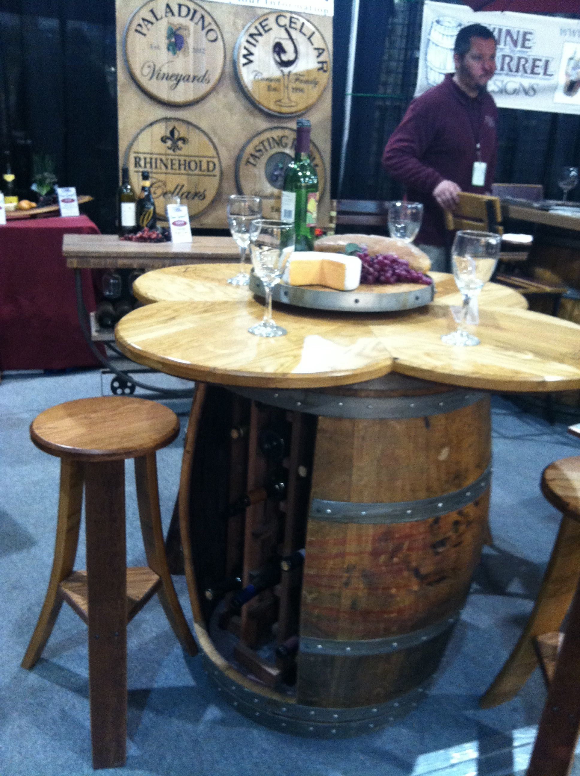 wine barrel ideas wine barrel outdoor wine barrel table decorating ideas worth making note of pinterest cafe lighting 16400 natural linen