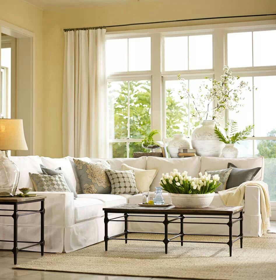 pottery barn home decor pinterest