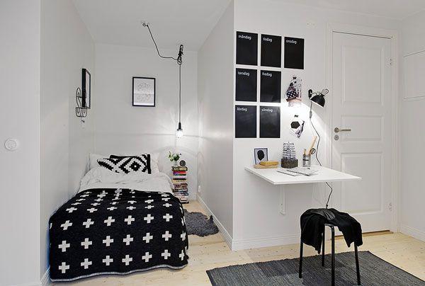 Kết hợp đen trắng đơn giản nhưng rất tinh tế