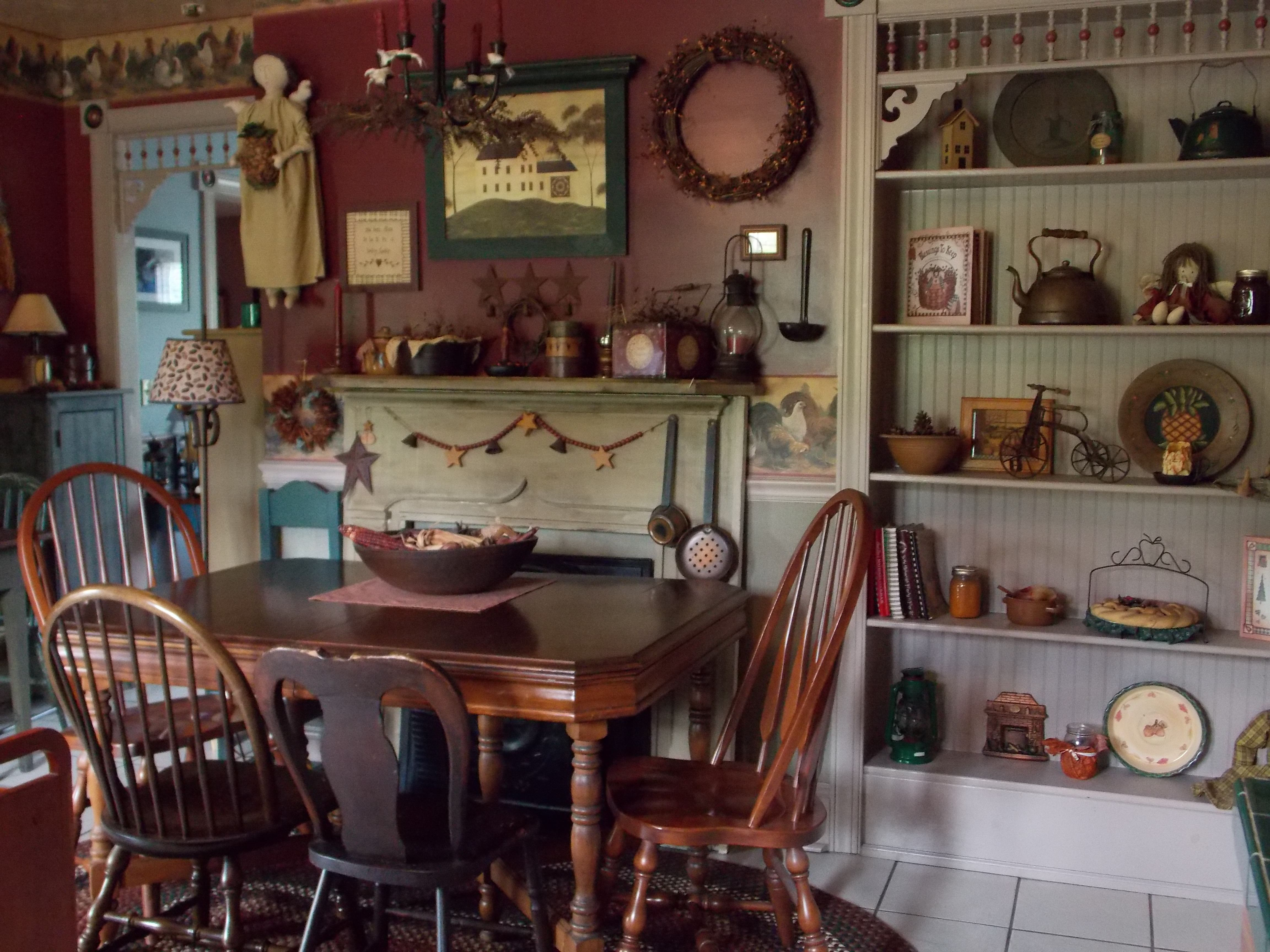My country farmhouse kitchen Country decor