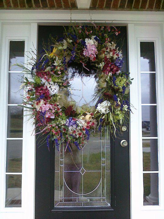 Spring Wreath A Door Able Wreath Ideas Pinterest