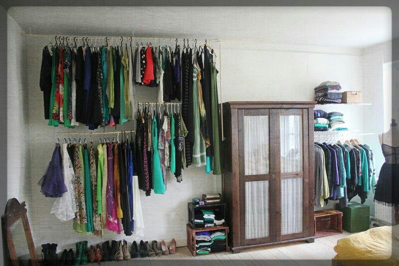 diy alternative clothing storage dream home pinterest