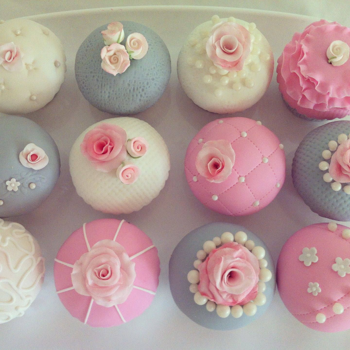 cupcakes baby shower girl party hardy pinterest