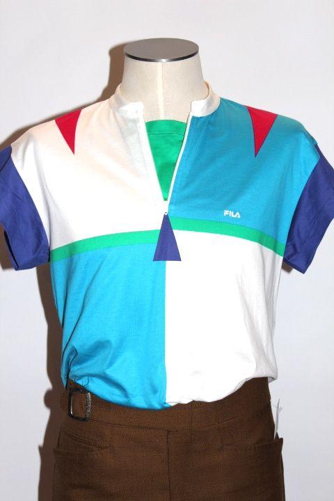 1980 39 s fils t shirt rue st denis clothing pinterest. Black Bedroom Furniture Sets. Home Design Ideas