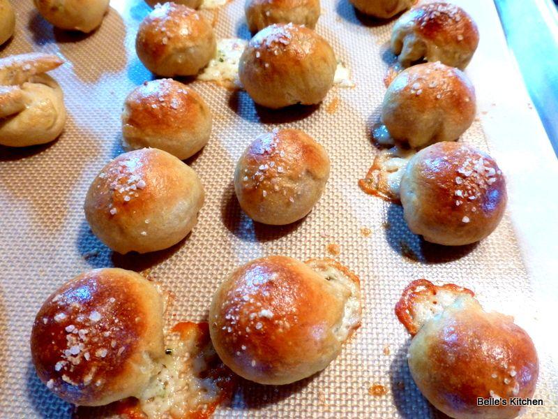 Pepper Jack Stuffed Pretzel Bites | FOOD! | Pinterest