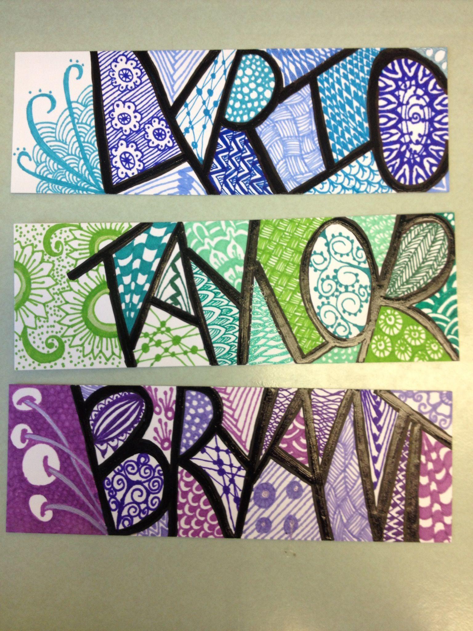 bookmarks art journals i 39 ve made pinterest