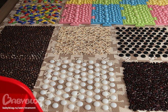 Как сделать коврик из подручного материала