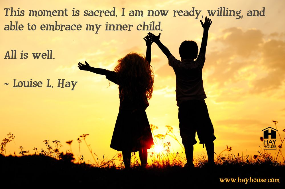 how do you embrace your inner child inspirational