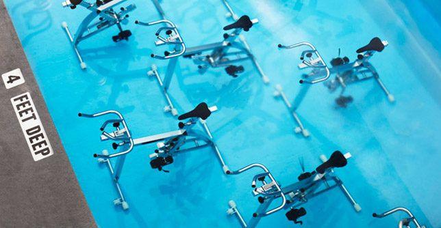 Aquaspinning: An Underwater Spin Class