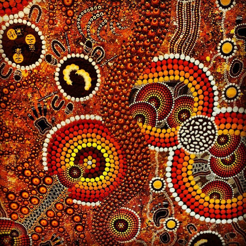 Aboriginal art art pinterest for Australian mural artists