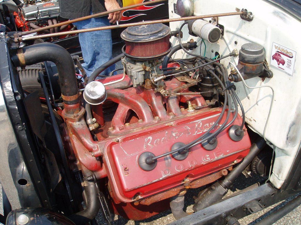 Early Hemi Dodge Red Ram Engines Pinterest