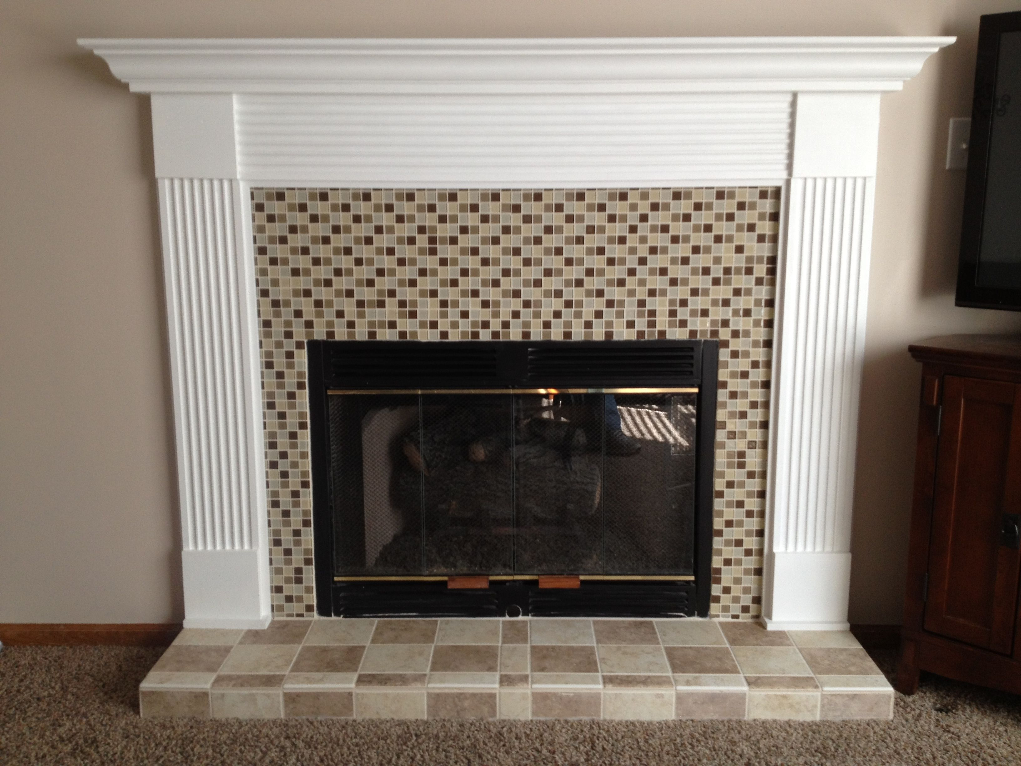 Diy Mantel Diy Fireplace Mantels Pinterest