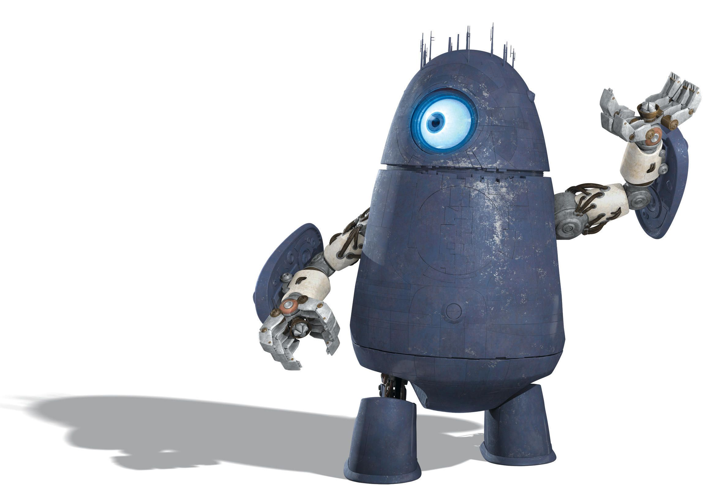 monsters vs aliens alien robot chase