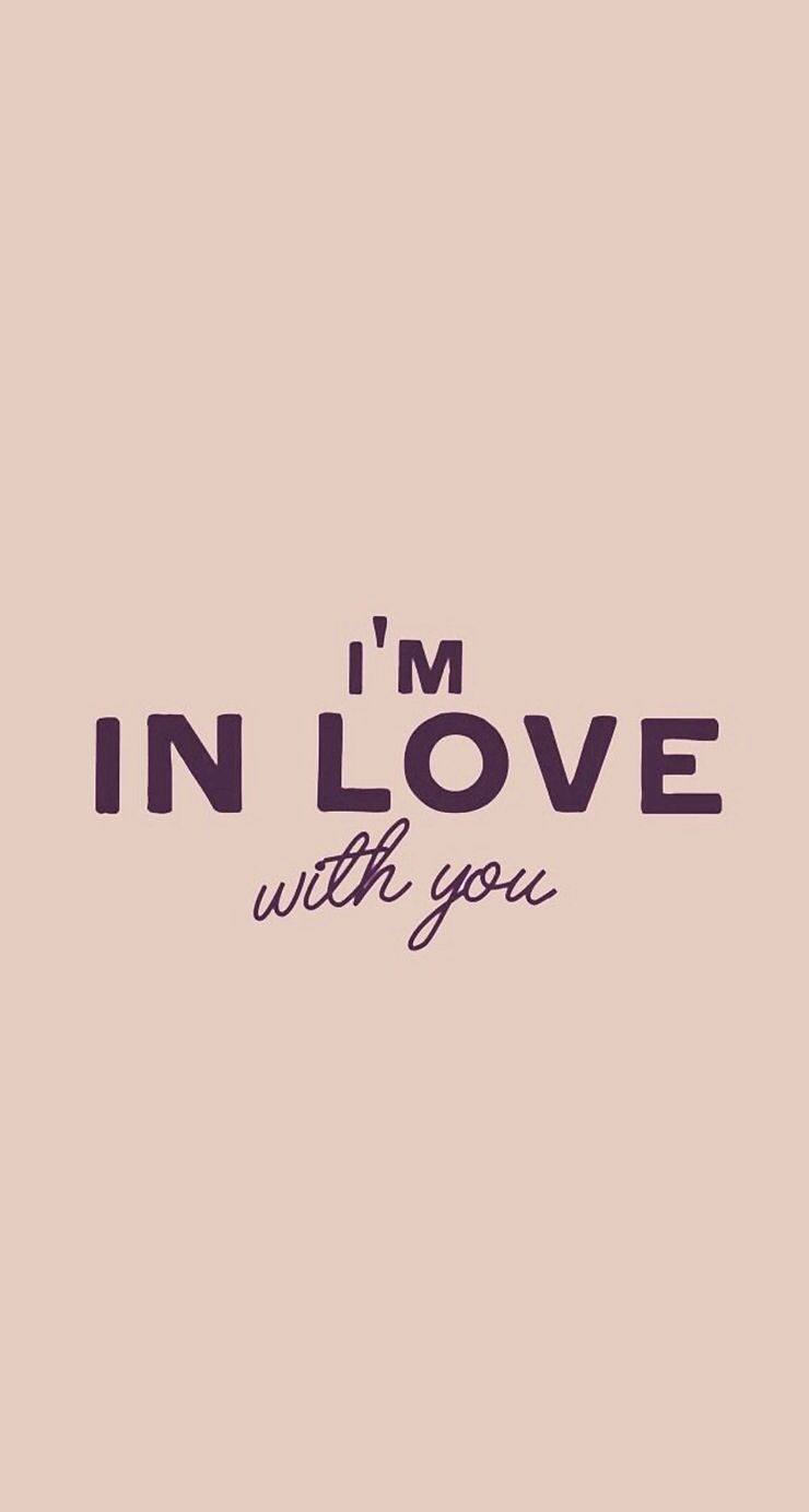 Wallpaper I Love You M : I m in love with you iOS 7 wallpapers Pinterest