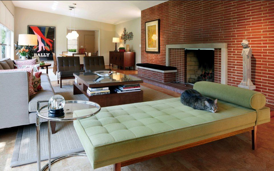 Mid Century Living Rooms Cool Design Inspiration
