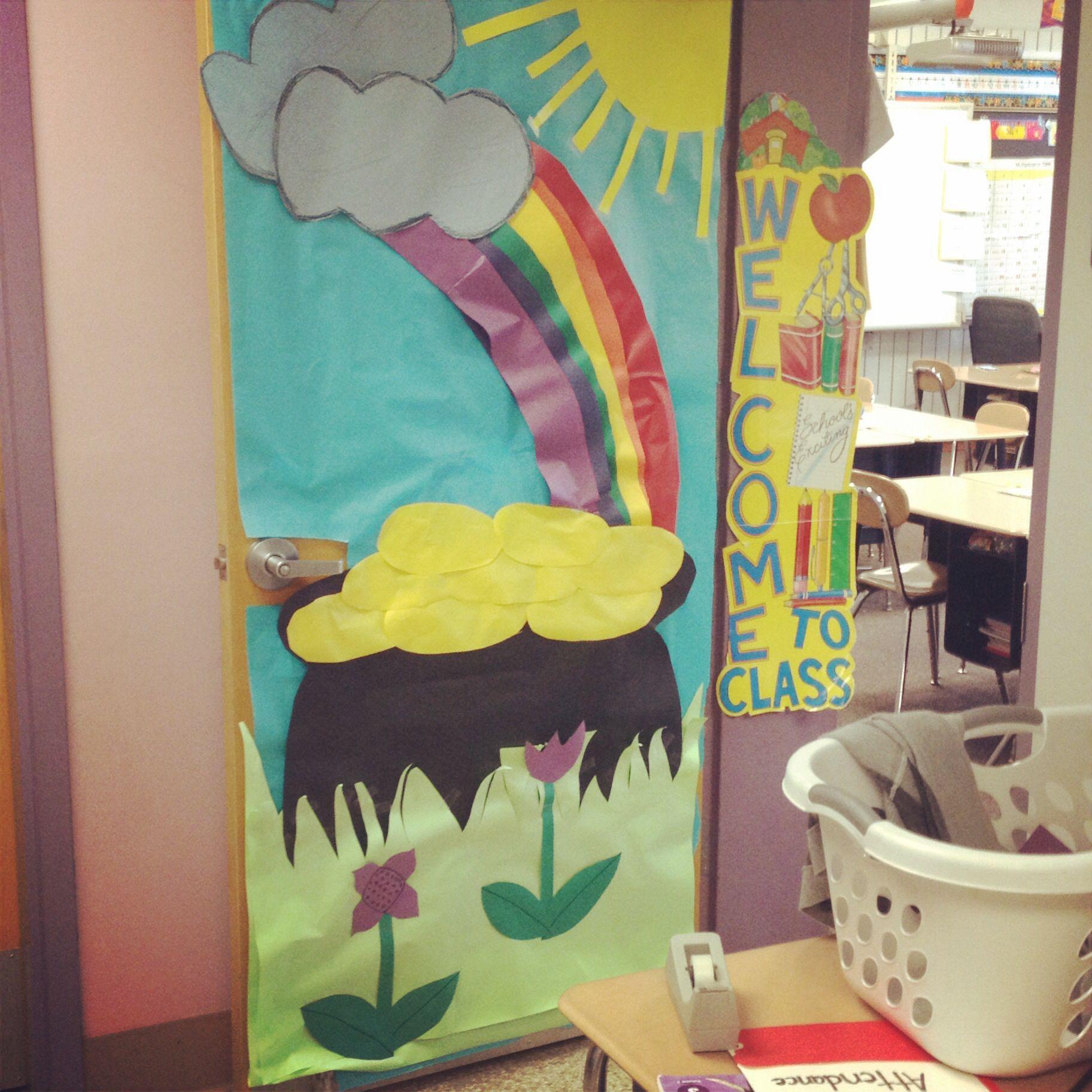 Spring Classroom Door Decorations School Pinterest