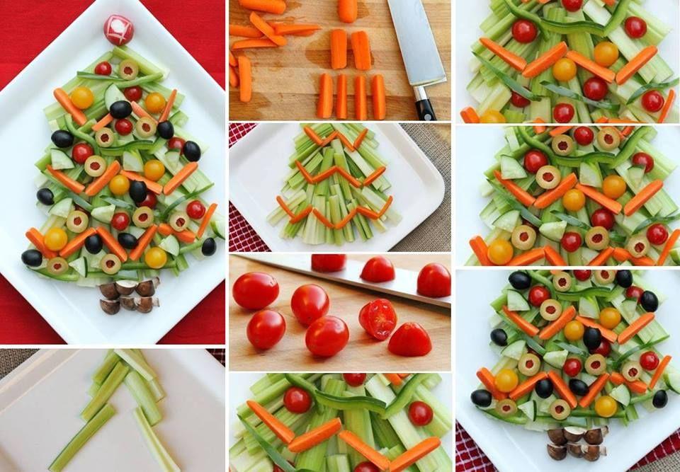 Christmas veggie tray veggie tray ideas pinterest