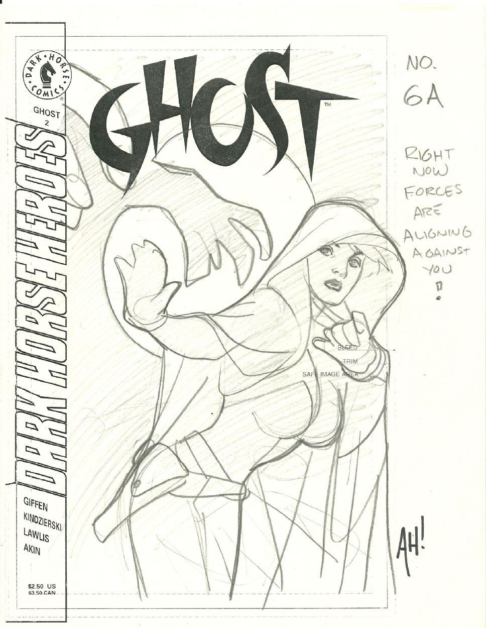 Adam Hughes Ghost Sketch Adam Hughes Pinterest
