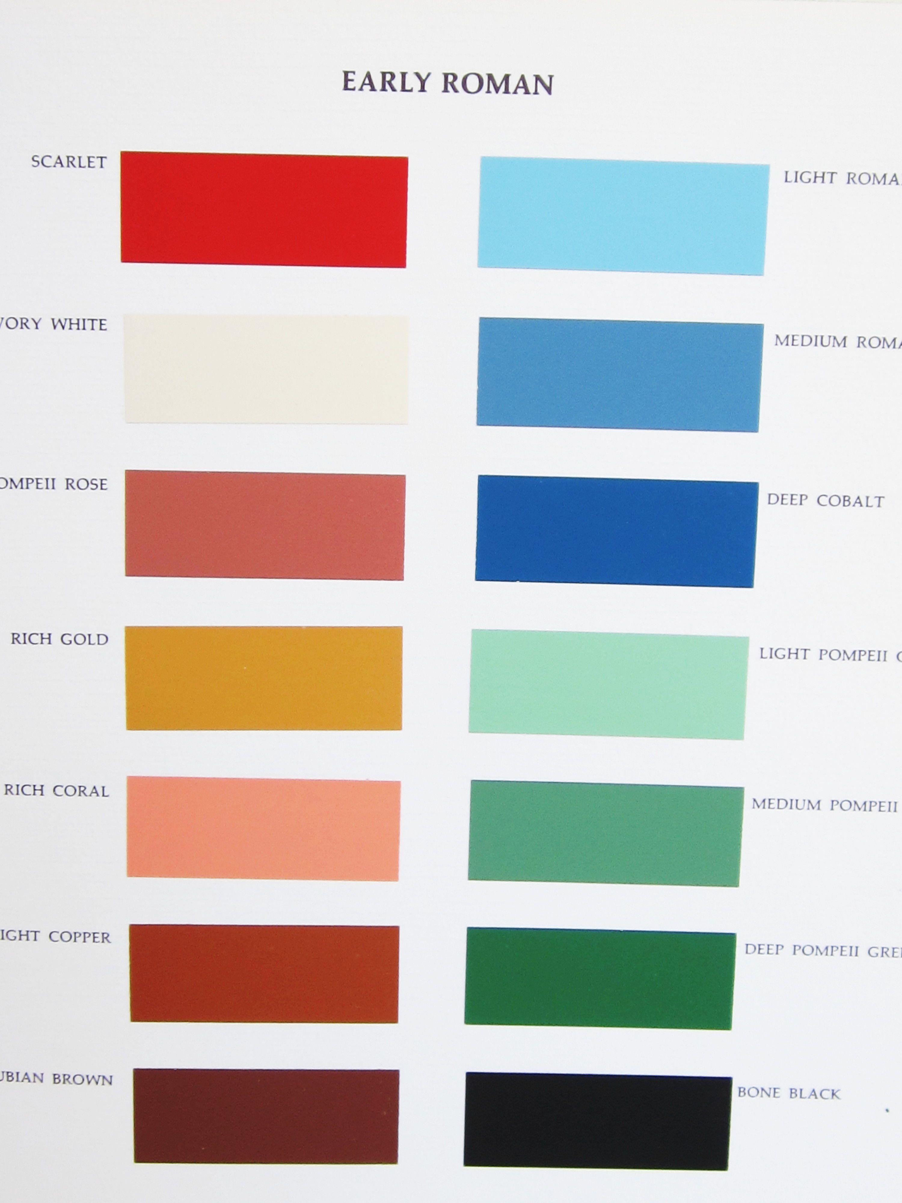 early roman color palette rome ideas for benefit pinterest