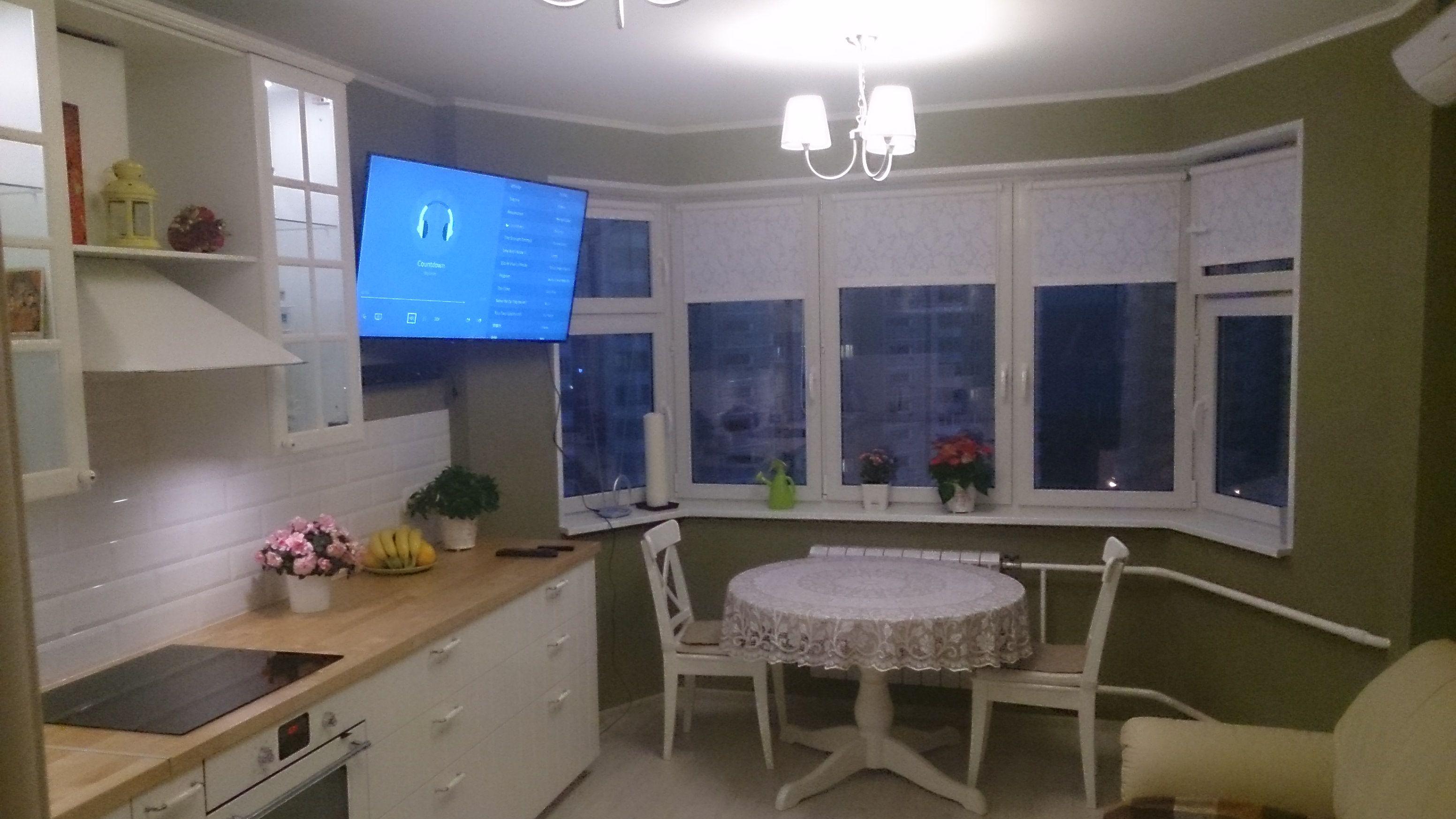 П 44к кухня с эркером дизайн
