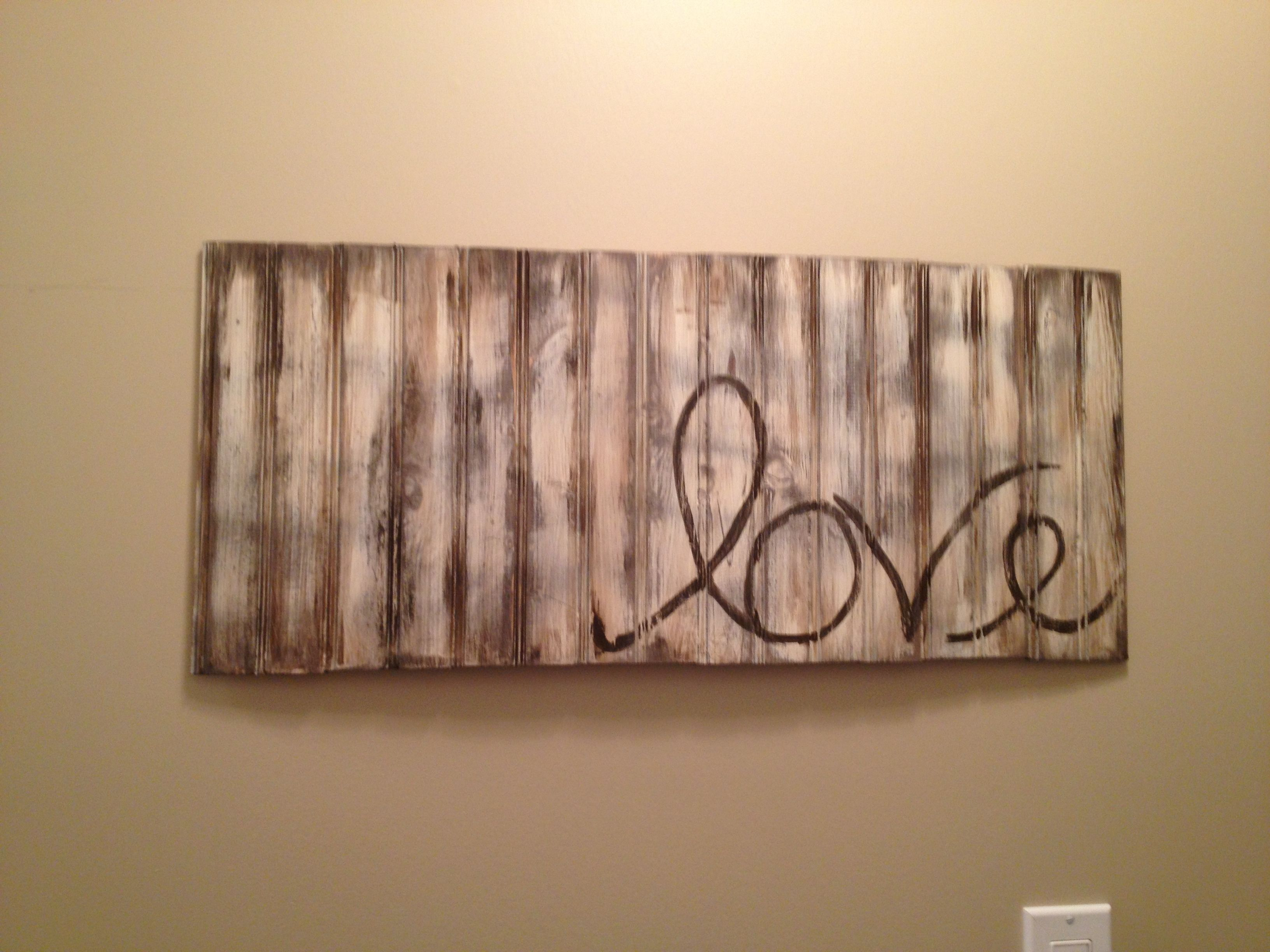 Rustic wood sign craft ideas pinterest for Rustic wood crafts ideas