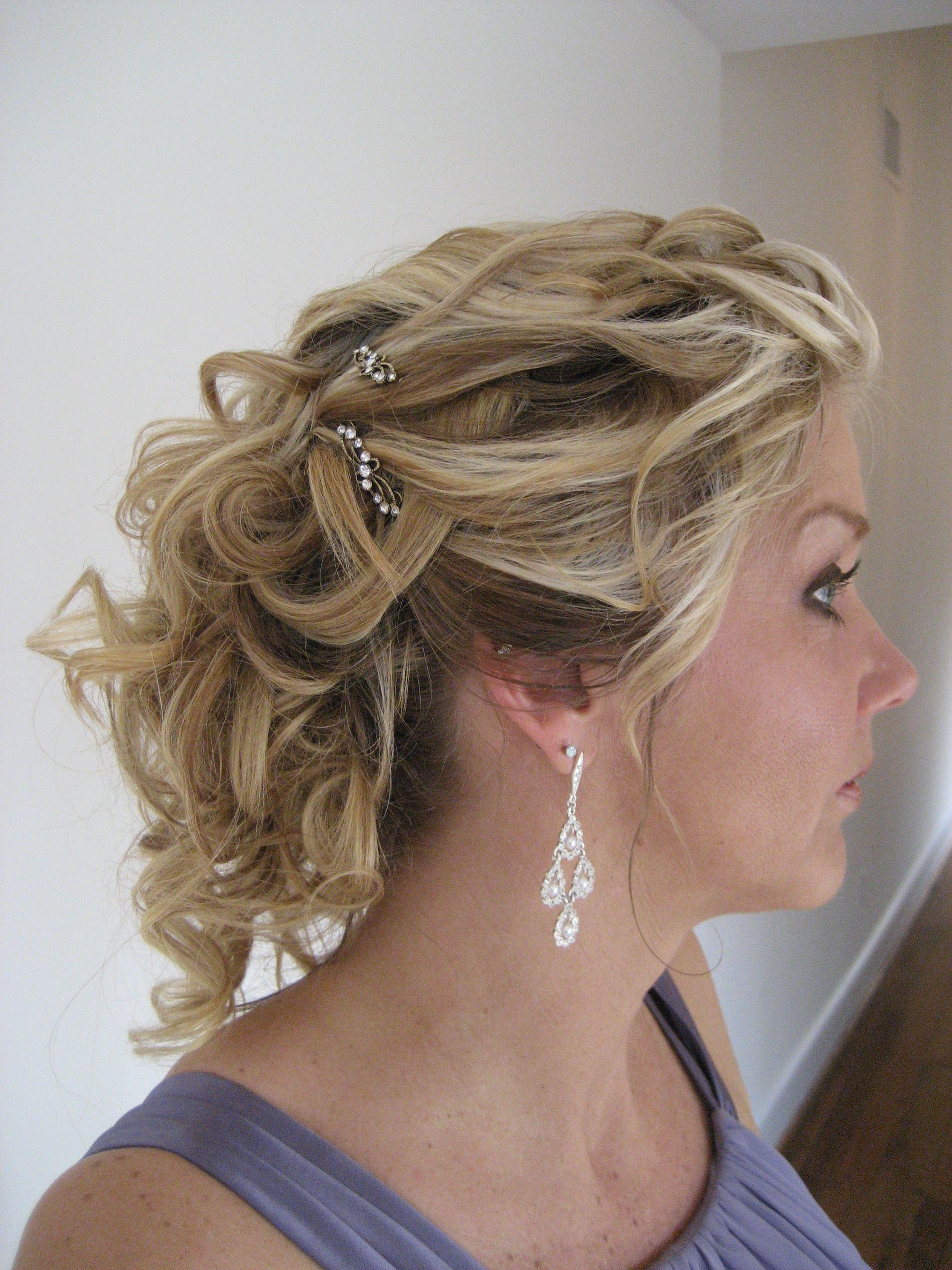 Wedding Hairstyles Side View
