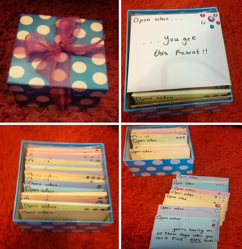 Оригинальные записки к подаркам 89