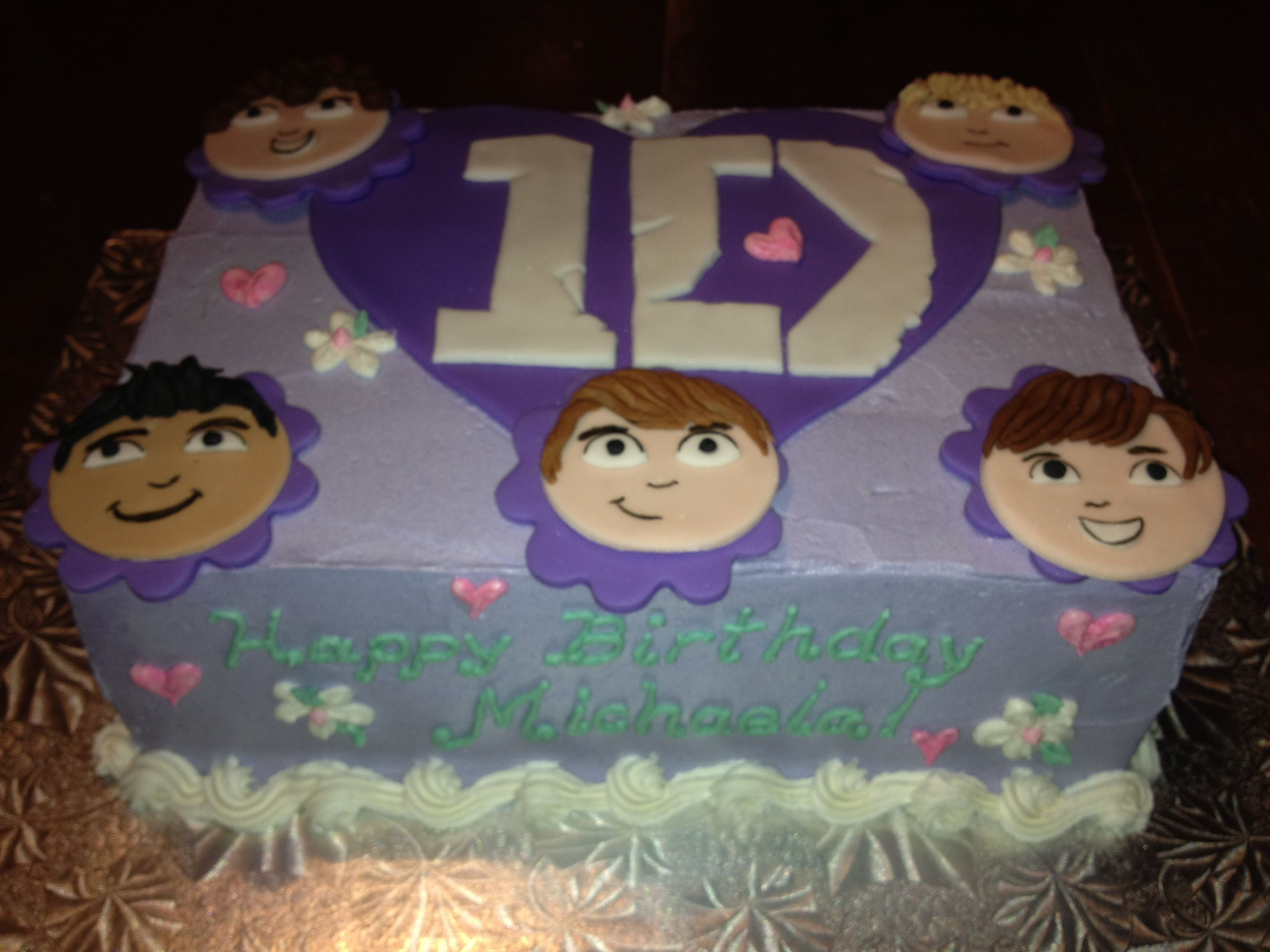 1D by My Sweet Obsession by Lori | My Cakes | Pinterest