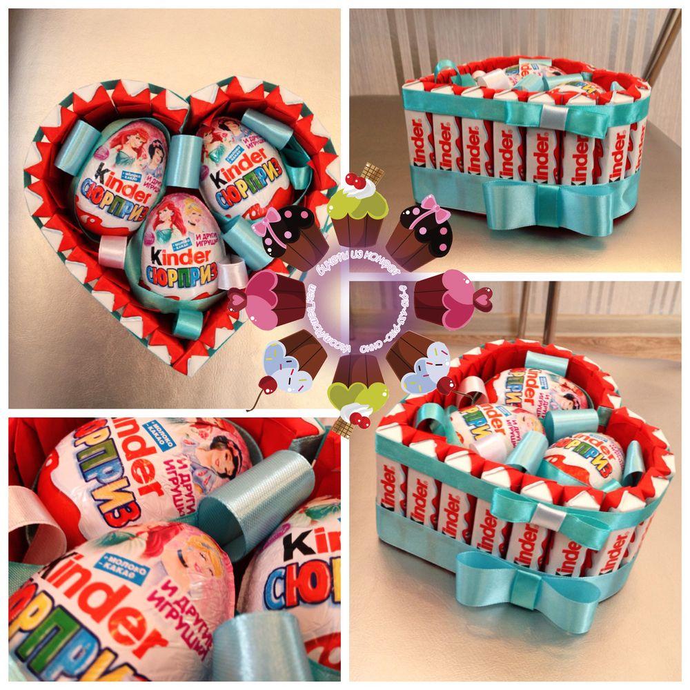 Идеи для сладкого подарка своими руками