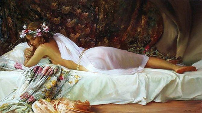 Стихи Про Красоту Обнаженного Тела Спящей Женщины