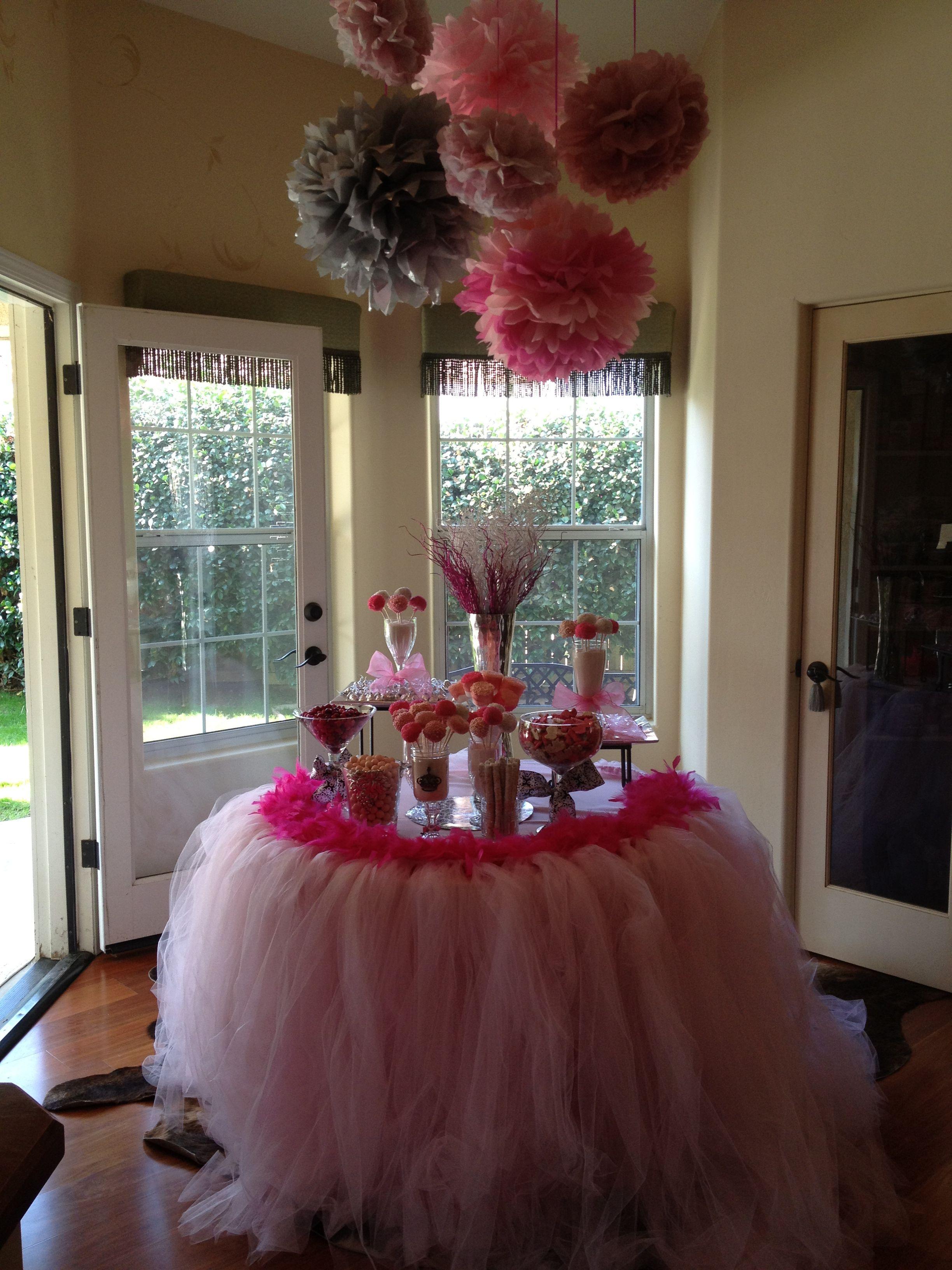 baby shower tutu skirt candy bar twinies pinterest