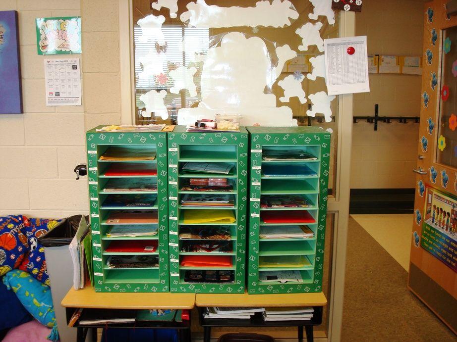 Classroom Mailbox Ideas ~ Mailboxes preschool classroom ideas pinterest