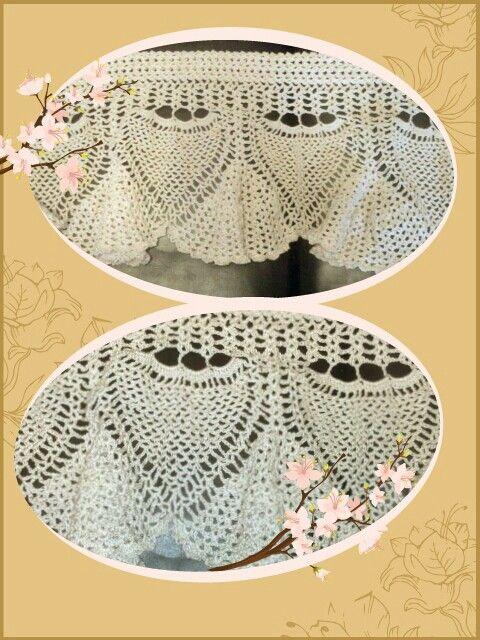 Crochet lace valance Hazlett Hooking Pinterest