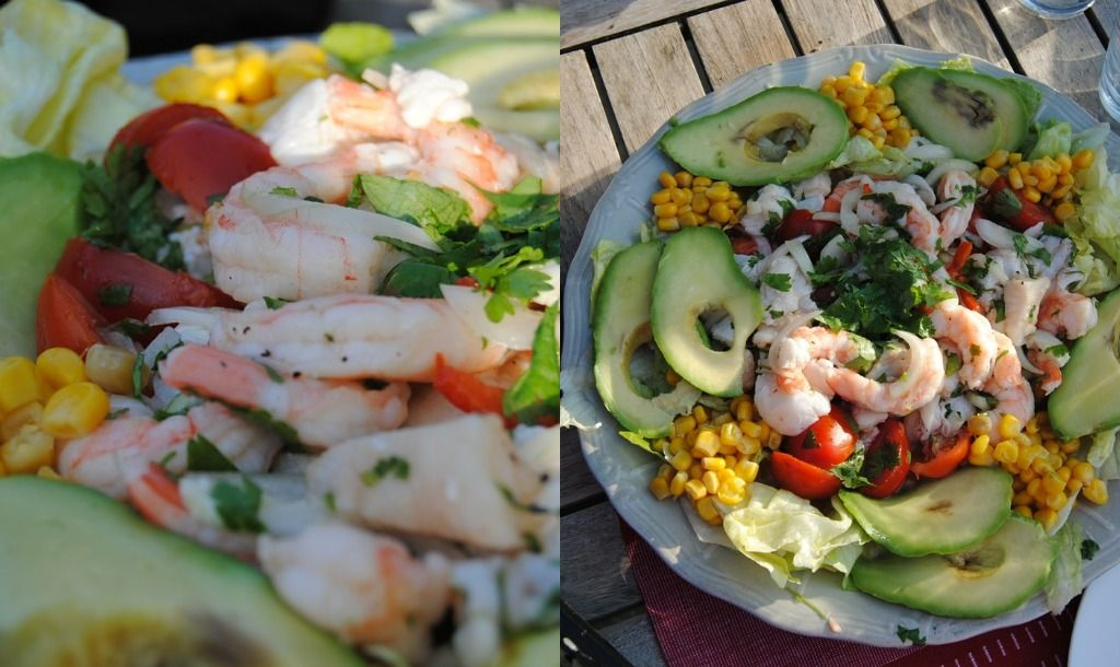 Home made! Ceviche inspired salad!   Grubbage   Pinterest