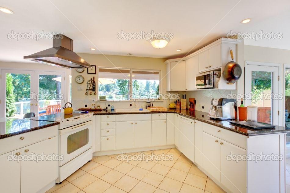 Bright kitchen  Kitchen  Pinterest