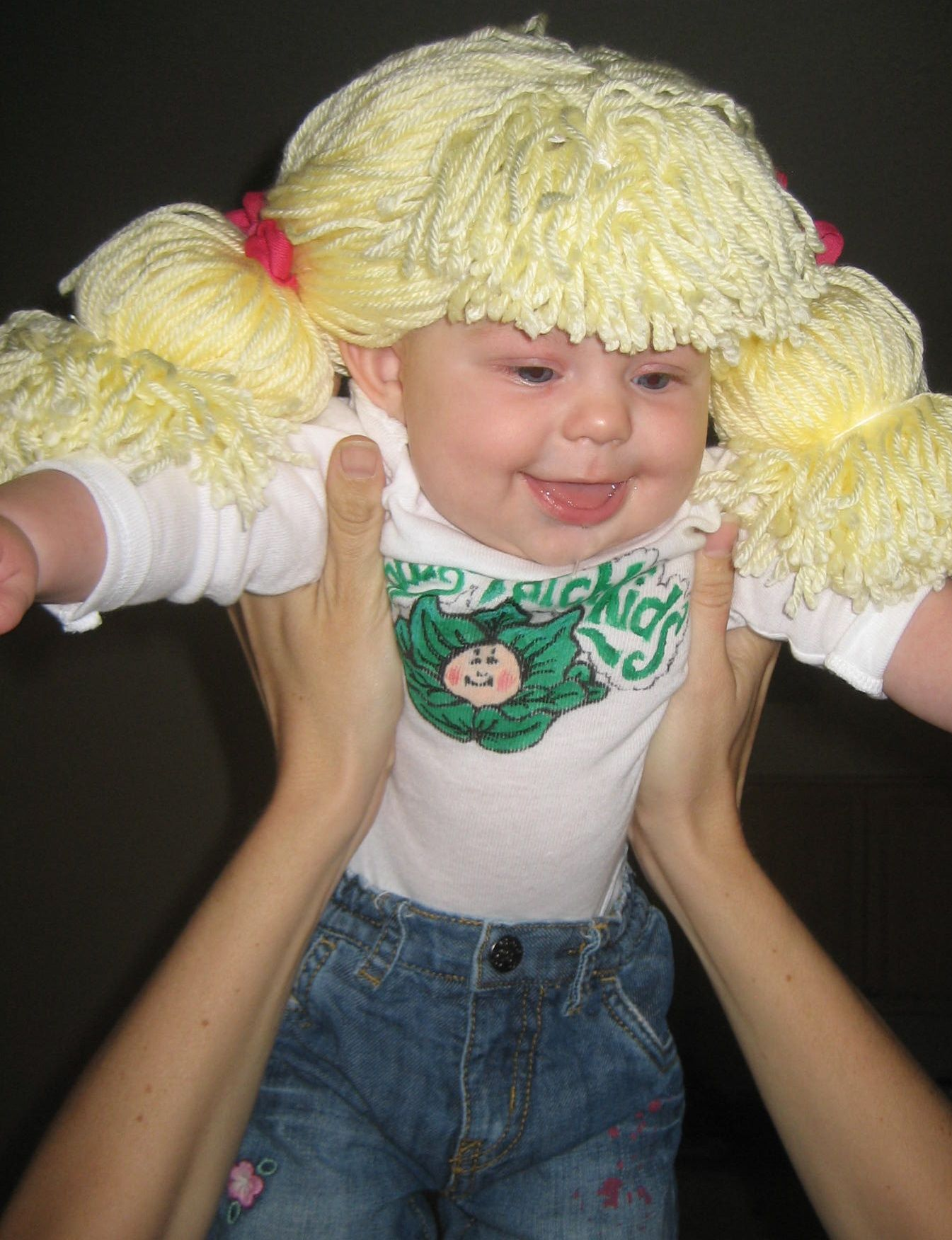 Cabbage patch kid costume halloween pinterest for Cabbage patch costumes