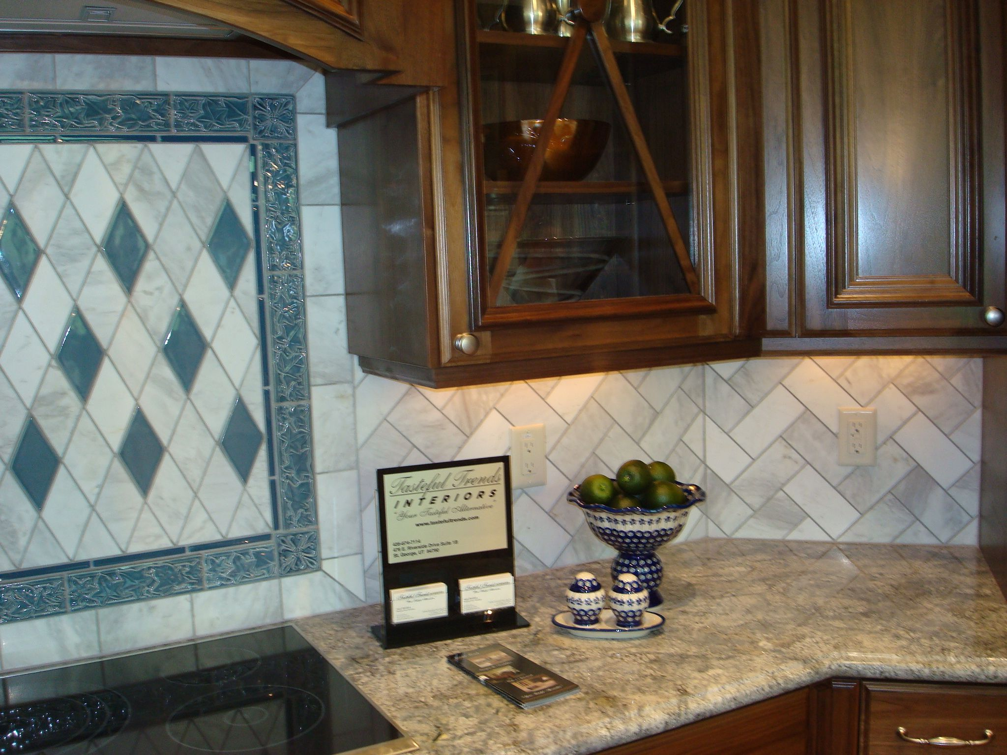 herringbone backsplash interiors backsplashes tile