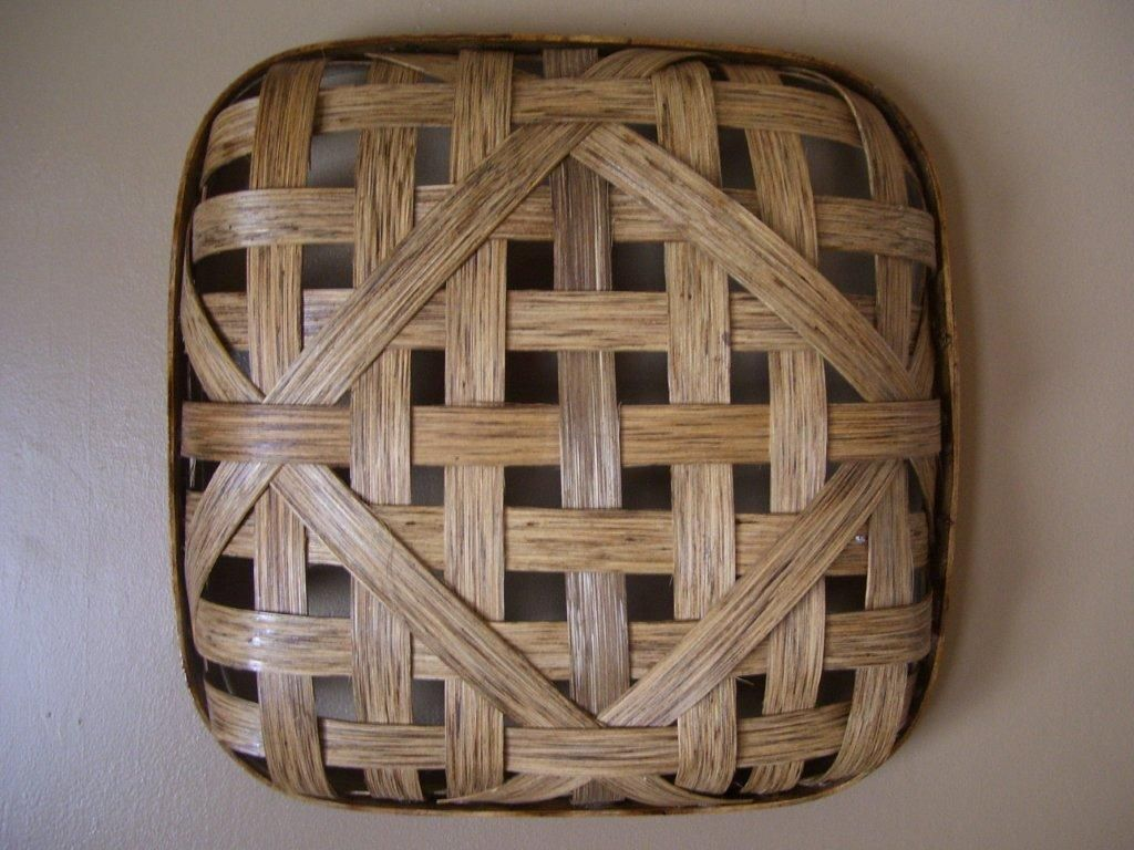 14 inch repro tobacco basket | baskets I make and sell | Pinterest