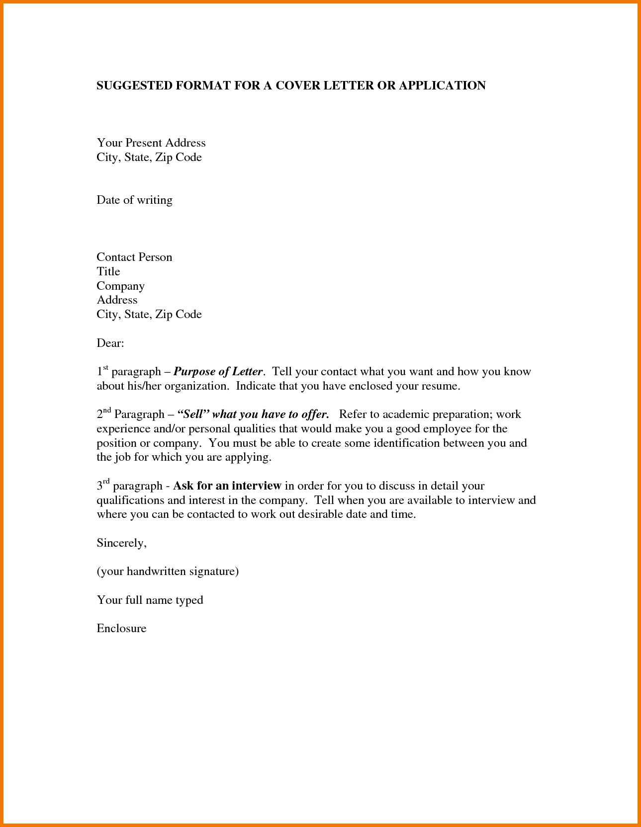 Job Application Letter In A School Krys Tk
