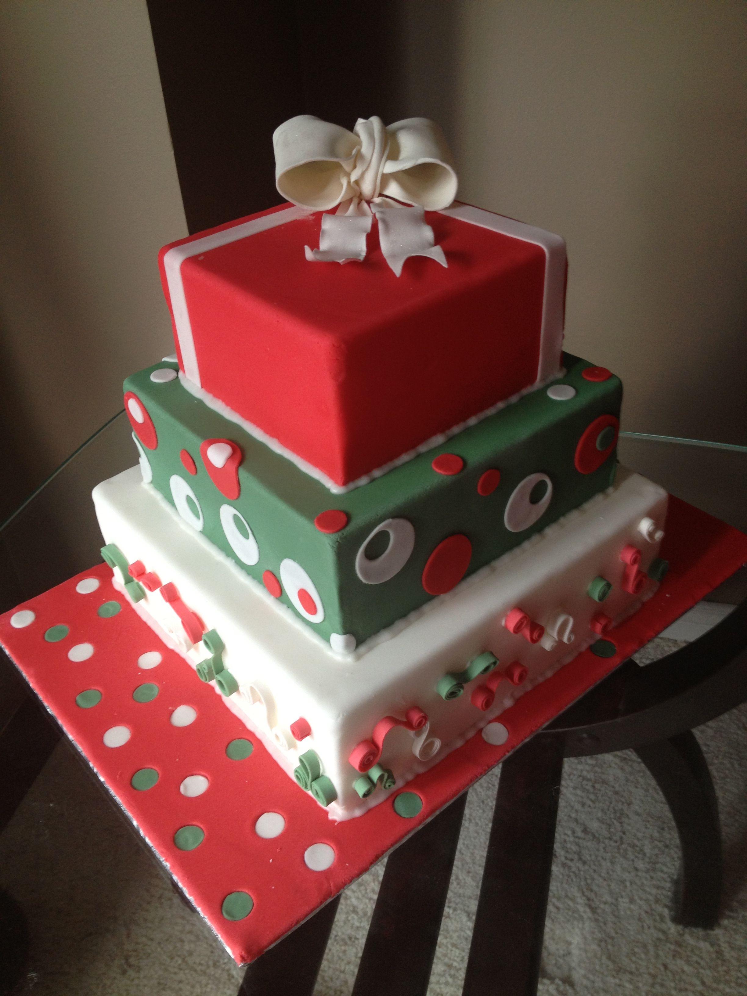Christmas Cake Ideas Pinterest : Christmas cake Cakes Pinterest