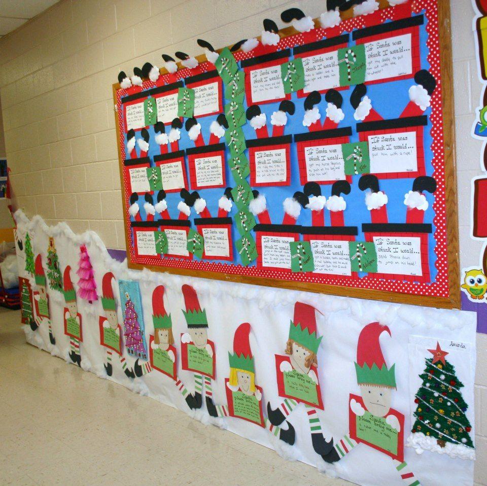 Classroom Christmas Hallway Decoration Byrd Stuff