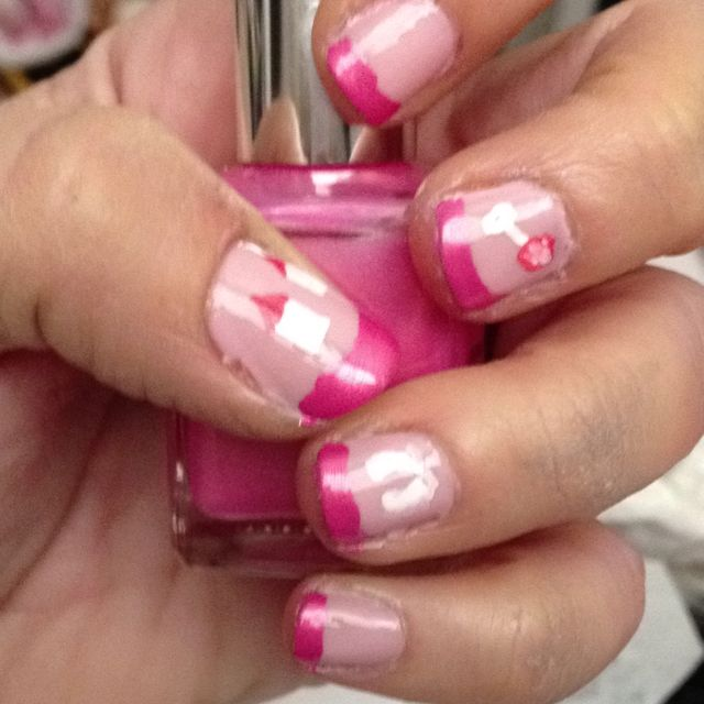 baby shower nails my nail art pinterest