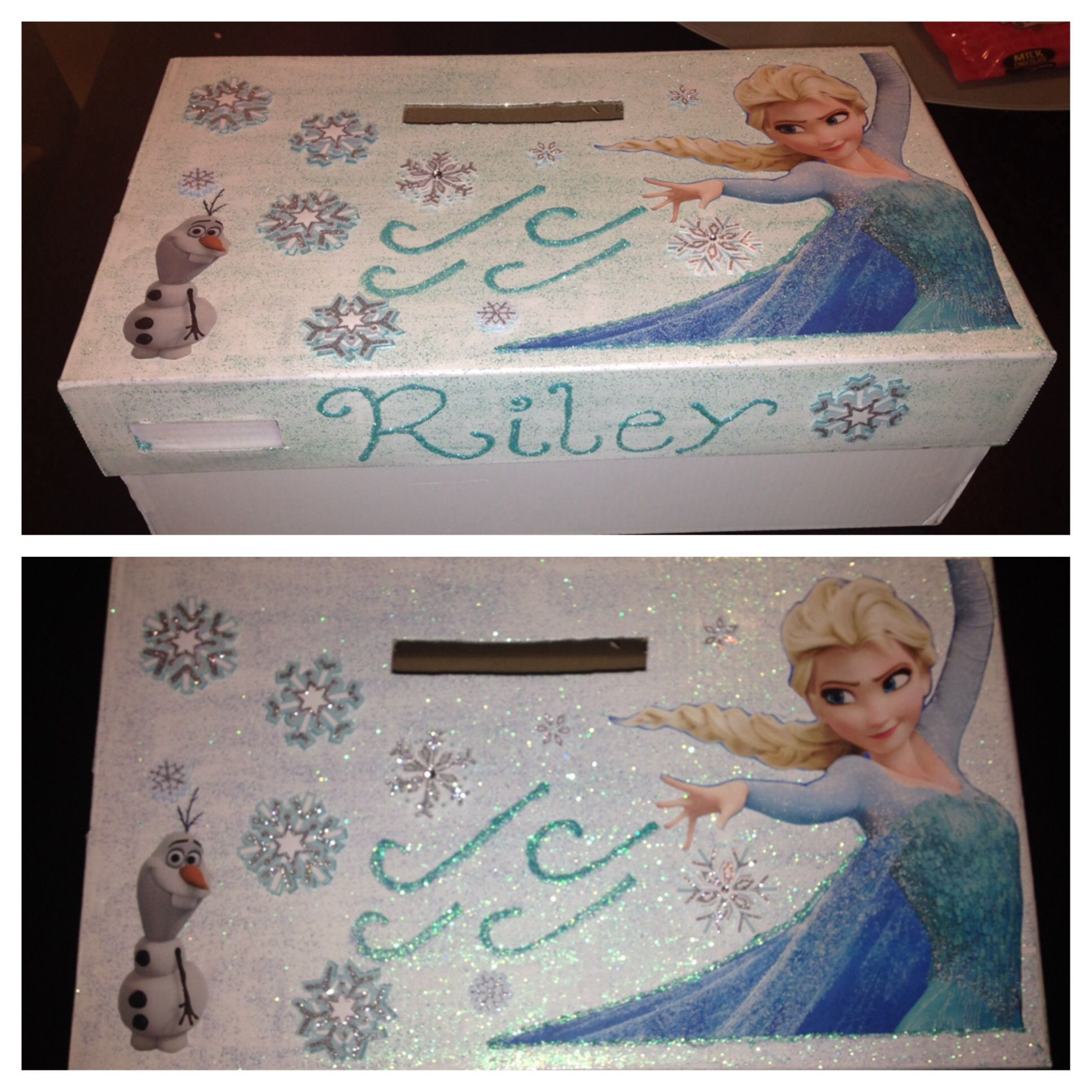 elsa valentines day box