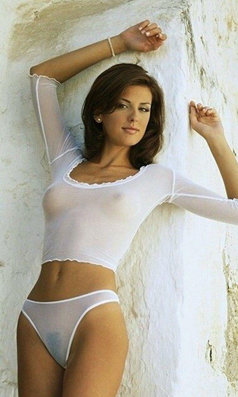 Фото девушек в прозрачной одежде 4 фотография